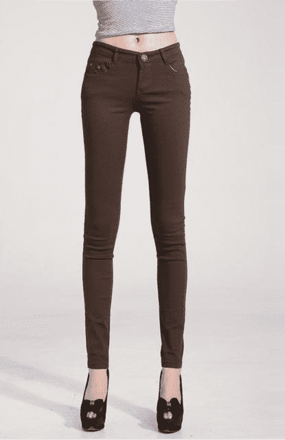Candy Color Women Jeans W.jeans