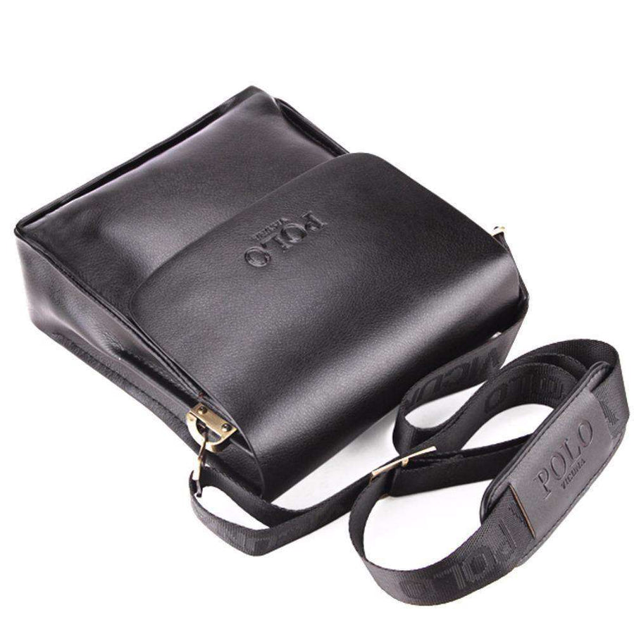 Casual Business Leather Vintage Mens Crossbody Bag