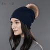 Casual Cap With Real Raccoon Fur 02D / China Hats