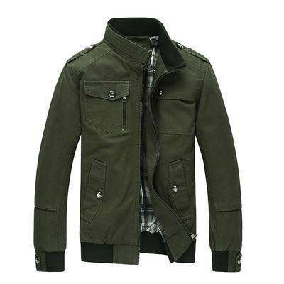 Casual Outerwear Khaki Jacket Amy Green / M Jackets
