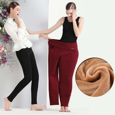 Casual Pencil Black/red/blue Long Pantalon Pants