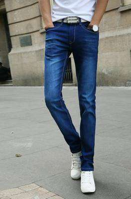 Casual Stretch Skinny Jeans Blue / 28 M.jeans
