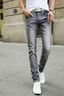 Casual Stretch Skinny Jeans Silver / 28 M.jeans