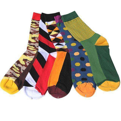 Colorful Combed Cotton Socks Group11 Socks