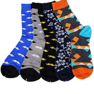 Colorful Combed Cotton Socks Group16 Socks