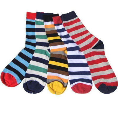 Colorful Combed Cotton Socks Group5 Socks