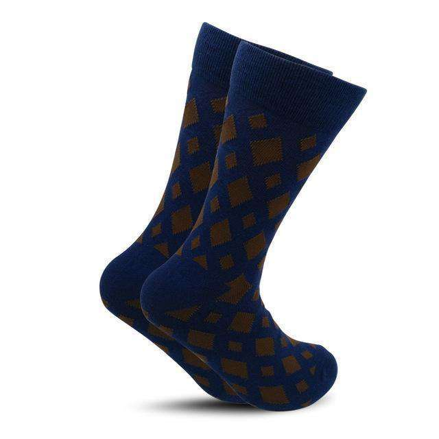 Colour Crew Cotton Happy Socks 4 / One Size Socks