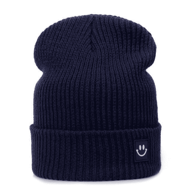 Cotton Cartoon Knitted Beanies Gray Hats