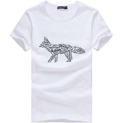 Cotton Comfortable Males T-Shirt White Adt701140 / M M.t-Shirts