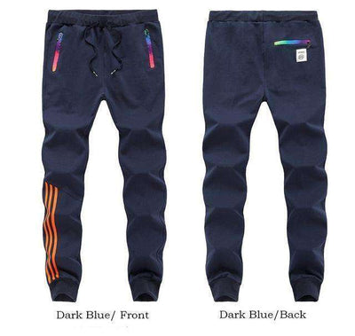 Cotton Sportswear Casual Hip Hop High Street Pants Darkblue Mt201 / S Sweatpants