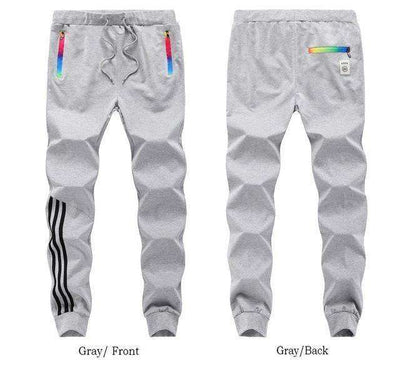 Cotton Sportswear Casual Hip Hop High Street Pants Gray Mt201 / S Sweatpants