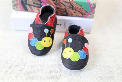 Cow Leather Soft Soled Toddlers Infant Shoes First Walkers C3 / 4.5