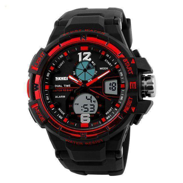 Digital-Watch Mens Sports Watches Army Military Wristwatch