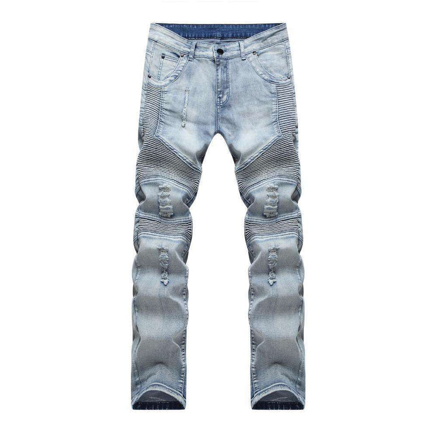 Distressed Mens Slim Jeans M.jeans