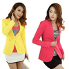 Double Breasted Short Design Blazer Blazers