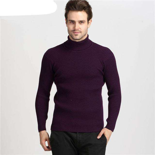 Double Collar 100% Cashmere Pullover M.sweaters