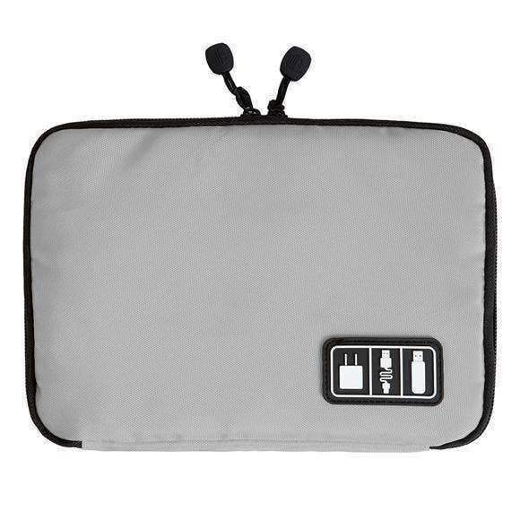 Electronic Accessories Travel Bag Organizer Digital Device Bag Black