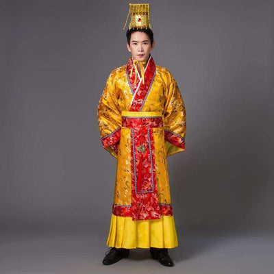 Emperor King Stage Clothes Dance Wear