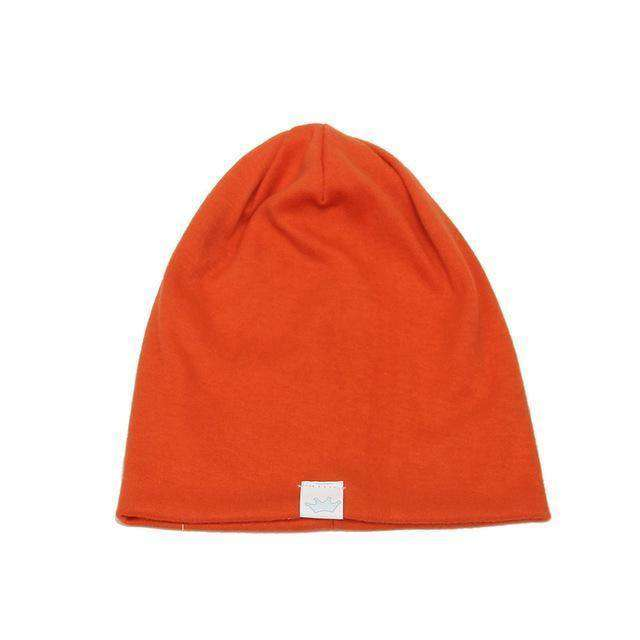 Fashion Cute Solid Knitted Cotton Hats For Newborn Beanies