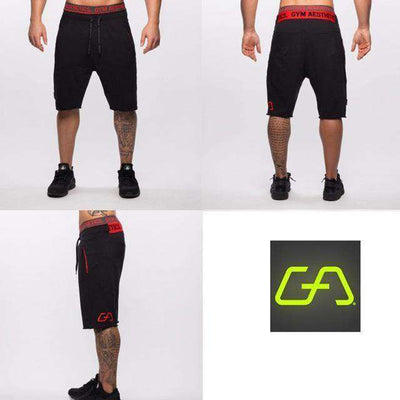 Fitness Workout Cotton Shorts Black 1 / M M.shorts