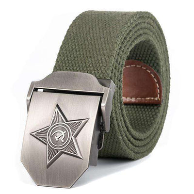 Five Rays Star Military Belt 3D Army Green / 110Cm Belts