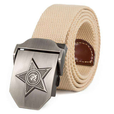 Five Rays Star Military Belt 3D Khaki / 110Cm Belts