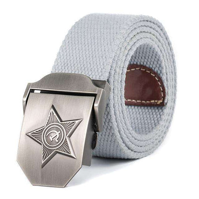 Five Rays Star Military Belt 3D Light Gray / 110Cm Belts