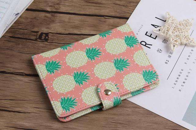 Flamingo Map Passport Covers Travel Accessories