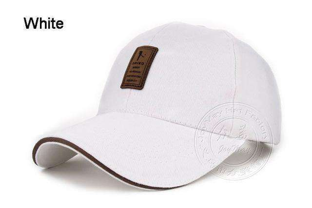 Good Quality Fitted Hats Beige Baseball Caps