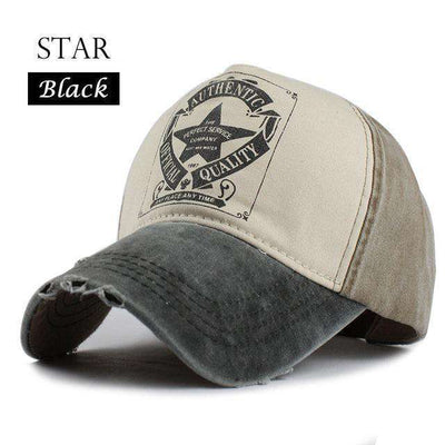 Gorras Snapback Baseball Caps Star Black Baseball Caps