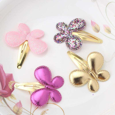 Hair Accessorie Barrettes Glitter Stars Bb Clip