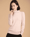 High Collar Winter Sweater Beige / S W.sweaters