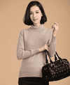 High Collar Winter Sweater Camel / S W.sweaters