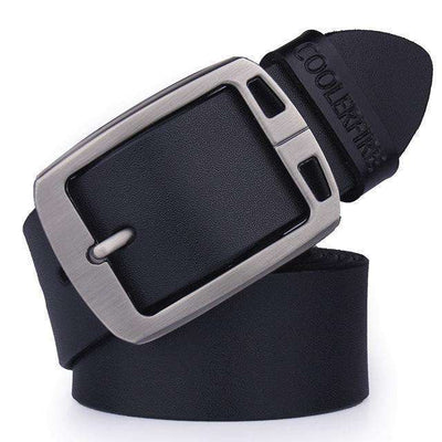 High Quality Strap Mens Genuine Leather Belt Hq021Black / 100Cm Belts