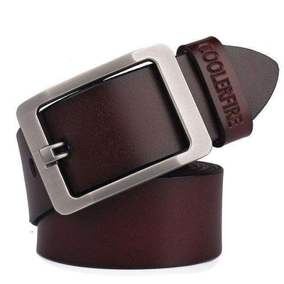 High Quality Strap Mens Genuine Leather Belt Hq022Coffee / 100Cm Belts