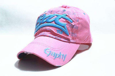 Hip Hop Fitted Cheap Hats Pink / Adjustable Baseball Caps