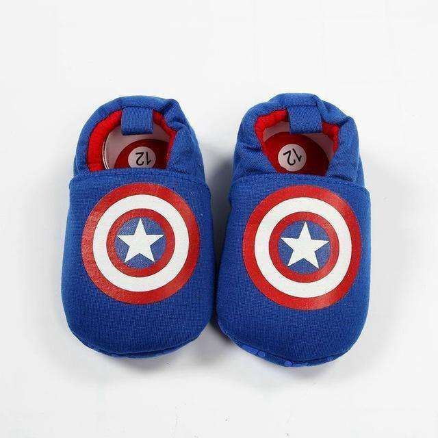 Infant Superman Bee Shoes Soft 0-18M
