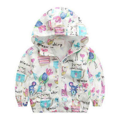 Jacket Boys Outerwear Coats Active Boy Windbreaker White / 3T