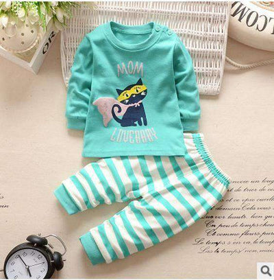Kids Clothes Spring Toddler Boy Clothing Cat / 24M