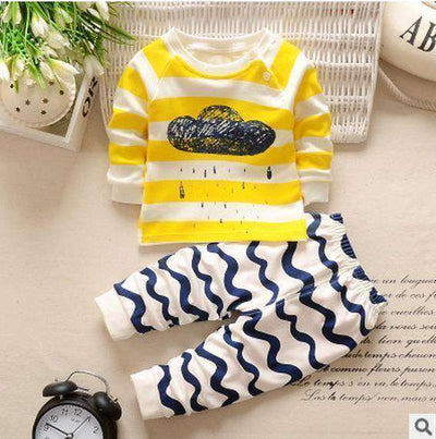 Kids Clothes Spring Toddler Boy Clothing Clouds / 24M