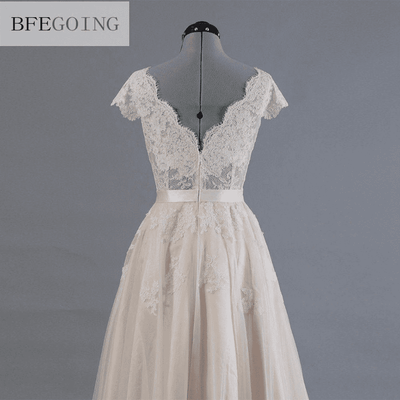 Lace A-Line Wedding Dress Wedding Dresses