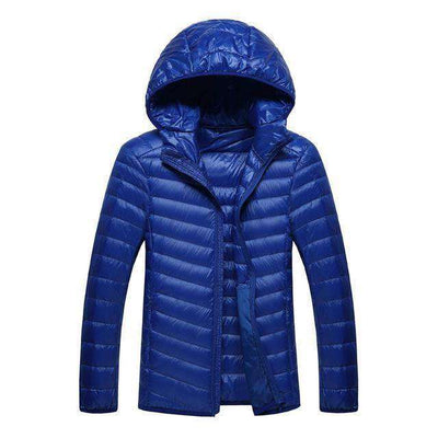 Lightweight Feather Hoodies Coat Down Jackets