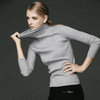 Long Sleeve Collar Pullover W.sweaters