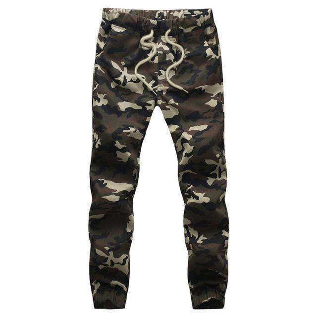 Loose Comfortable Camouflage Military Pants Army Green / 4Xl Sweatpants