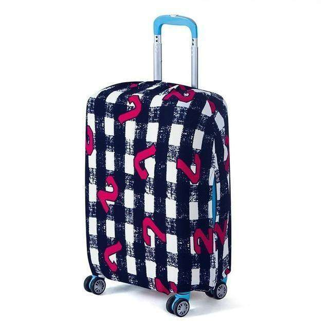 Luggage Protector Suitcase Protective Covers For Trolley Apply To 18-30 Inch Dot / S