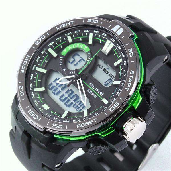 Men G Style Waterproof Sports Military Watches