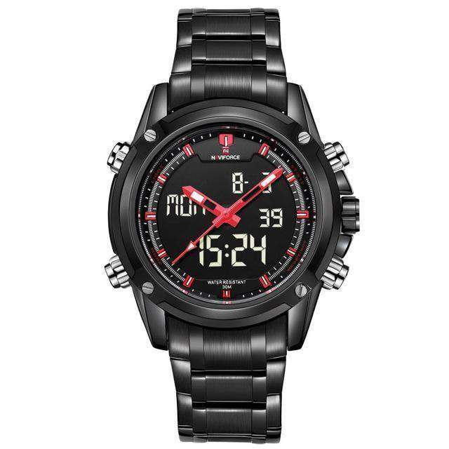Men Military Sports Watches Mens Quartz Led Hour Analog Clock
