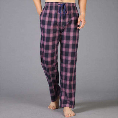 Mens Sleep Bottoms Pajama 100% Cotton 12 / S Sleep & Lounge