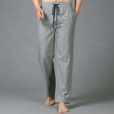Mens Sleep Bottoms Pajama 100% Cotton 15 / S Sleep & Lounge