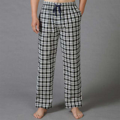 Mens Sleep Bottoms Pajama 100% Cotton 2 / S Sleep & Lounge